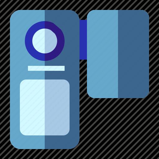 camcorder, handycam, video, video recording icon