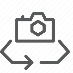 arrows, camera, digital, photography, refresh, reload, setting, sync icon
