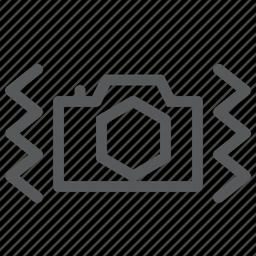 camera, digital, photography, picture, plain, setting, shake, stabilizer icon