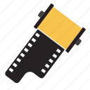 camera film, film, photo film, photography film icon