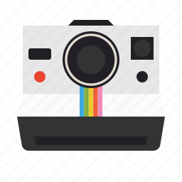 holiday, images, instant, photography, photos, polaroid, polaroid camera icon