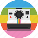 photography, photos, pictures, polaroid, polaroid camera icon