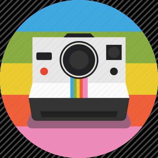 photography, photos, pictures, polaroid, polaroid camera icon
