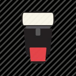 flash, flash light, flash-light, flashlight, light, photography, photos icon