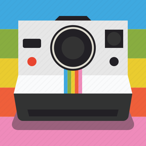 camera, instant, instant pictures, photography, pictures, polaroid, polaroid camera icon
