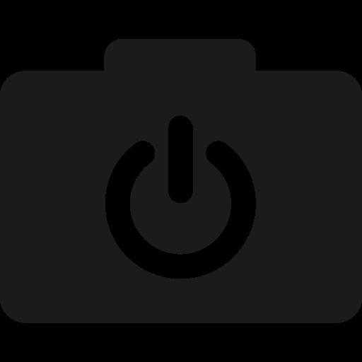 folder, io, power icon