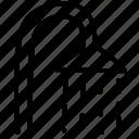 doodle, shower, shower room icon