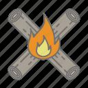bonfire, camp, camping, cs6, fire, multicolor, outdoore