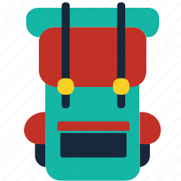 adventure, backpack, backpackers, bag, camping, rucksack, travel icon