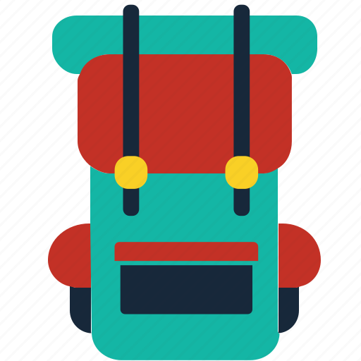 Adventure, backpack, backpackers, bag, camping, rucksack, travel icon - Download on Iconfinder