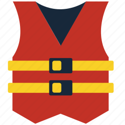 fishing rod, help, life, life jacket, rod, support, vest icon