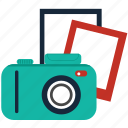 camera, image, photo, photography, picture, snaps, snapshot icon