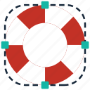 buoy, help, insurance, life, lifebuoy, lifesaver, protection icon