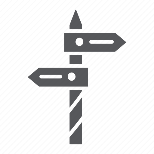 Arrow, direction, guidepost, sign, signpost, way icon - Download on Iconfinder