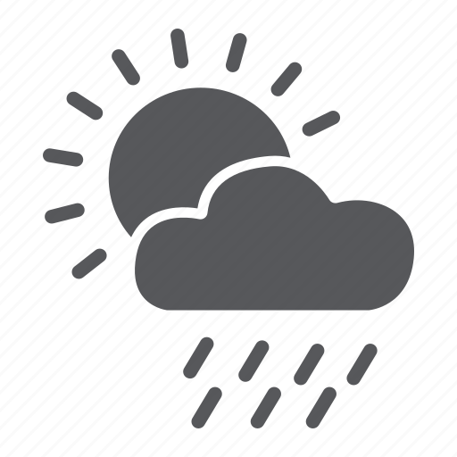 Cloud, day, rain, sky, sun, weather icon - Download on Iconfinder