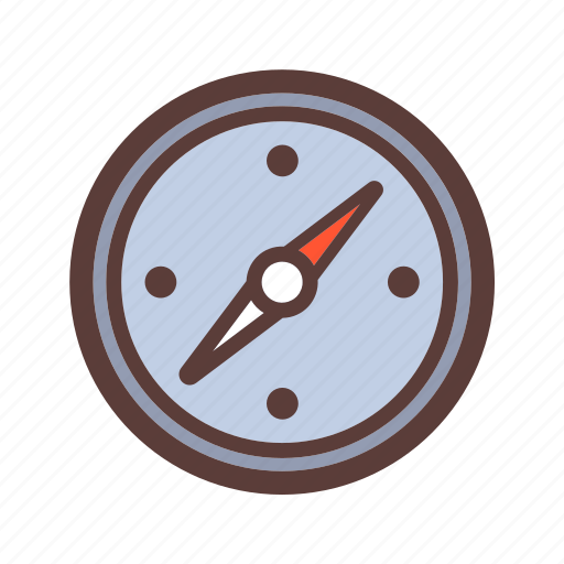 Adventure, compass, travel, camping icon - Download on Iconfinder