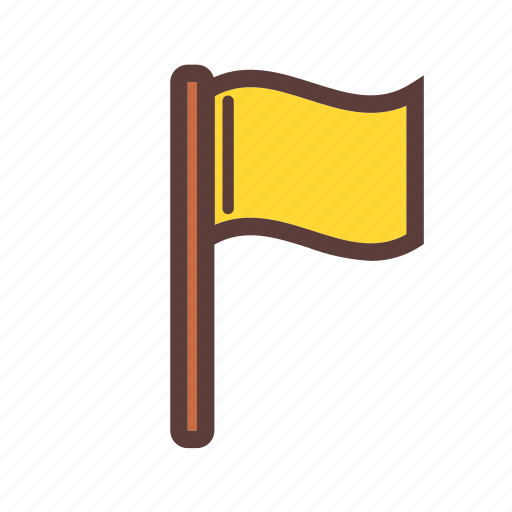 Adventure, camping, flag icon - Download on Iconfinder