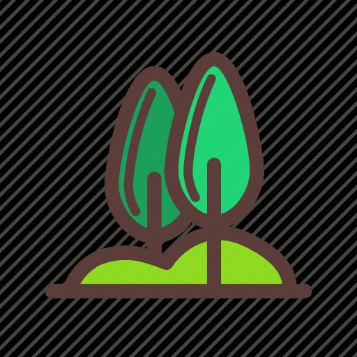 nature, outdoor, plant, tree icon