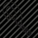 chain, crane, hook, link icon