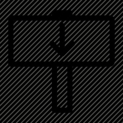 Detriment, disadvantage, down, loss, losses, under icon - Download on Iconfinder