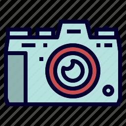 camera, camping, digital, equipment, outdoor icon