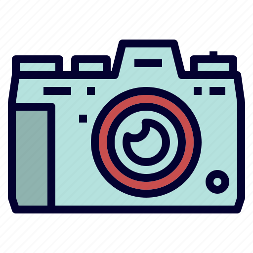 camera, camping, digital, equipment, outdoor icon
