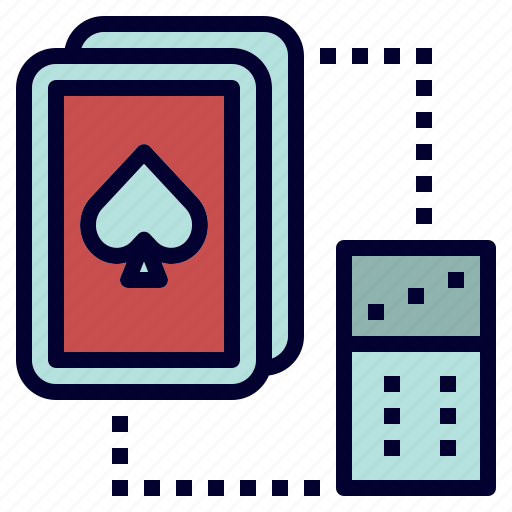 activity, camping, card, dice, game icon