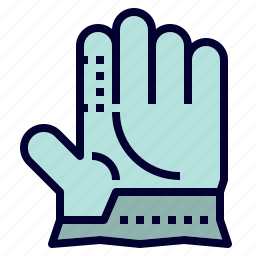 camping, construction, gear, glove, protective icon