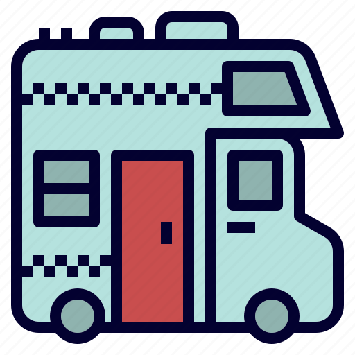 car, house, recreational, rv, truck, vehicle icon