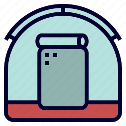 camping, outdoor, shelter, tent icon