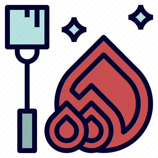 campfire, camping, mashmallow, snack, toasted icon