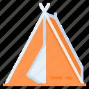 camp, camping, tent