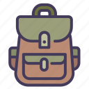 adventure, travel, hiking, bag, backpack