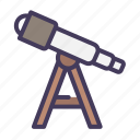 telescope, discovery, view