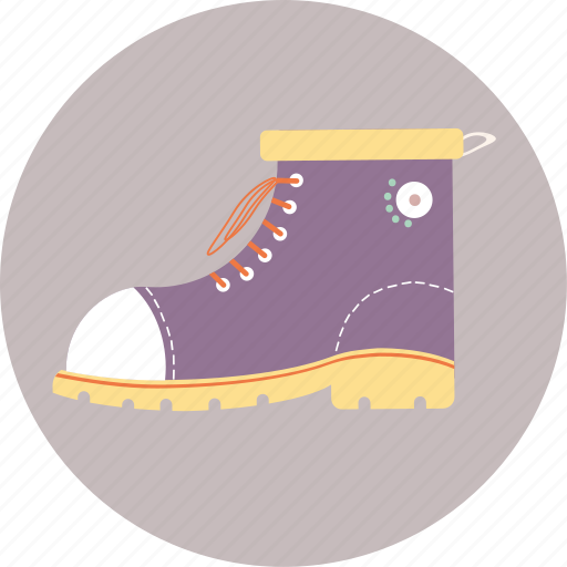 boots, camping, journey, travel, trip, vacation icon