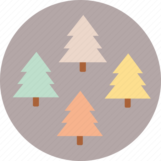 camping, forest, nature, travel, trees icon