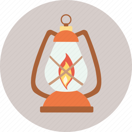 camping, gas, lamp, tourism, travel icon