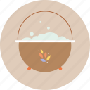 camping, cauldron, tourism, travel, trip icon