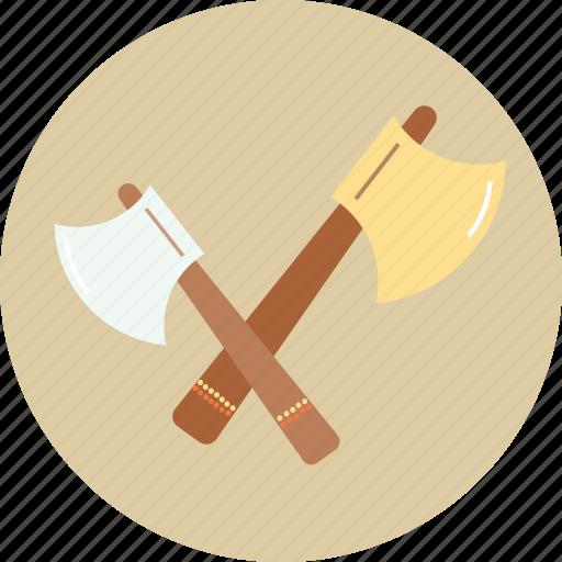 axe, camping, tourism, travel, trip icon