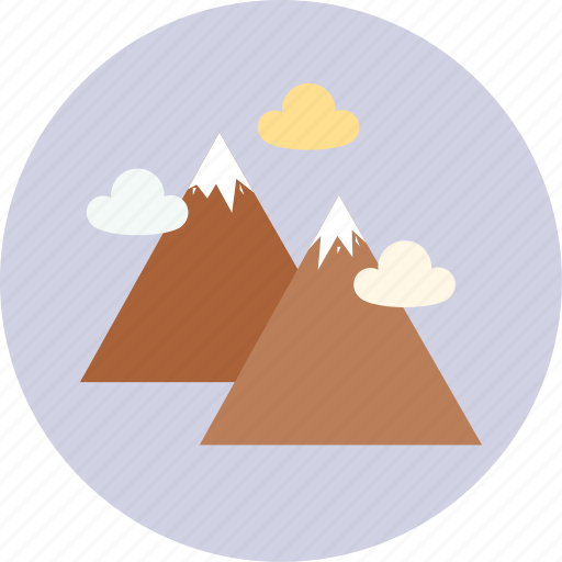 camping, mountain, mountains, tourism, travel icon