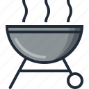 bbq, camping, eco, nature, summer, trip, vacation icon