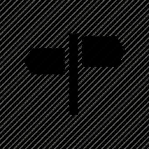 arrow, map, navigation, navigator, pointer, roadmap icon