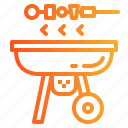 barbecue, bbq, grill icon