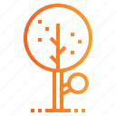 botanical, nature, tree icon