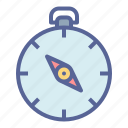 compass, direction, navigation, orientation icon