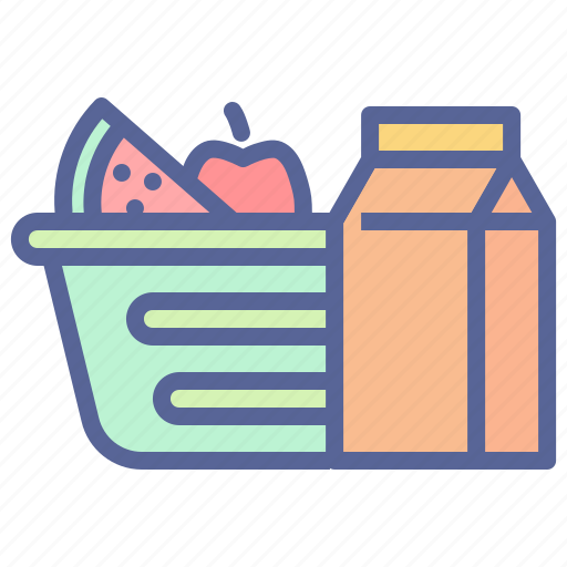 camping, food, groceries, picnic icon