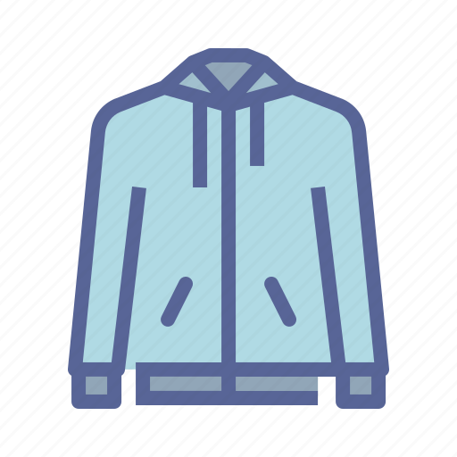 clothing, hoodie, shirt, sweater icon