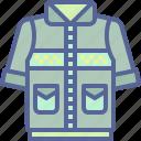 camping, hiking, jacket, safety