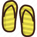 adventure, camping, flip, flip flops, flops, slippers, travel icon