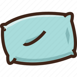 adventure, camping, hostel, hotel, pillow, travel icon